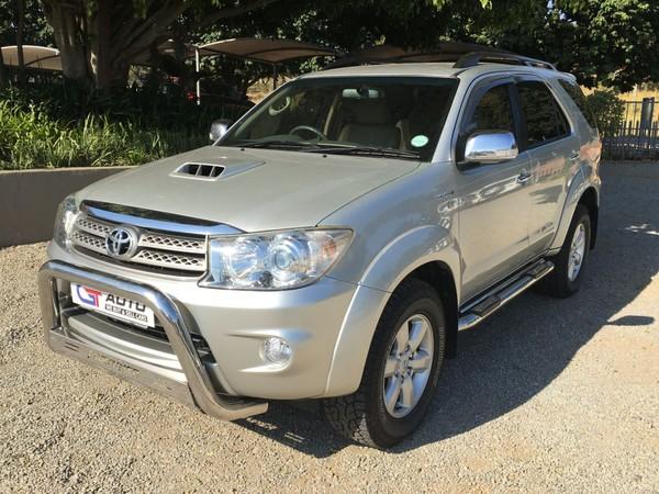 2009 Toyota Fortuner 3.0d-4d Rb  Mpumalanga White River_0