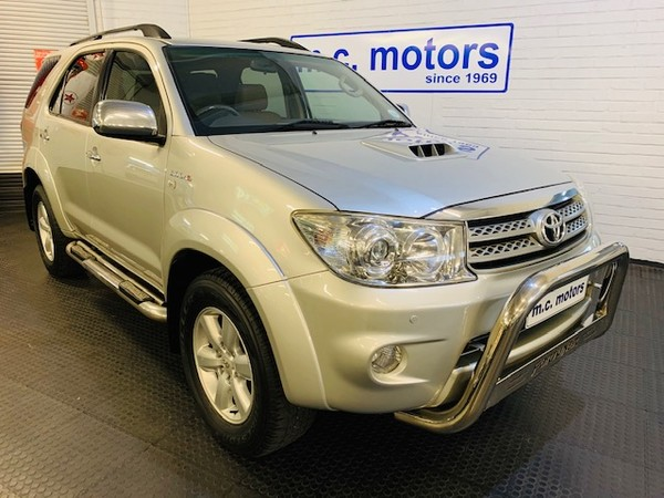 2009 Toyota Fortuner 3.0d-4d Rb At  Western Cape Cape Town_0