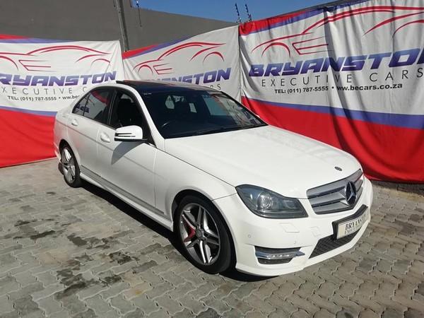 2013 Mercedes-Benz C-Class C200 Be Avantgarde At  Gauteng Bryanston_0