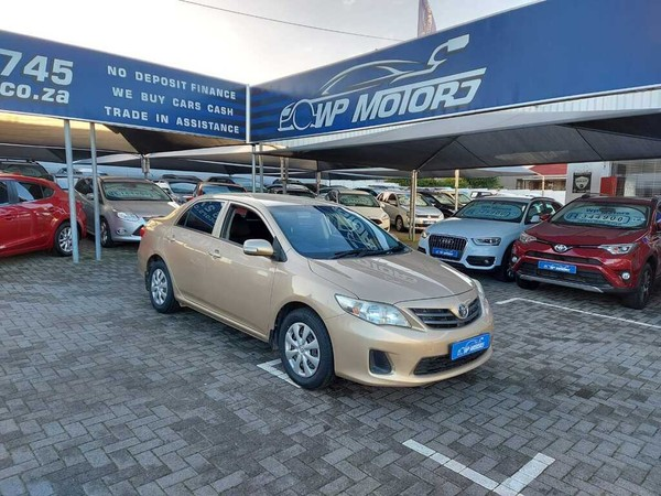 2013 Toyota Corolla 1.3 Professional  Western Cape Bellville_0