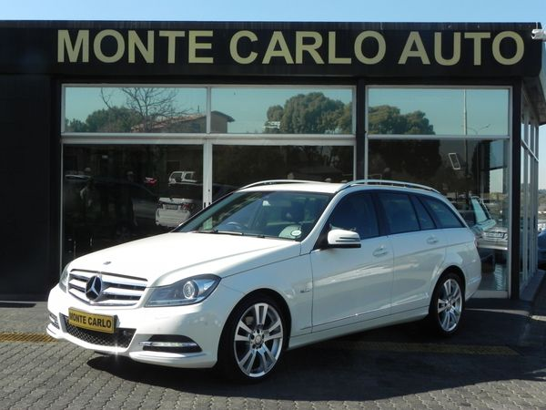 2012 Mercedes-Benz C-Class C250 Cdi Be Estate Avantgarde At  Gauteng Sandton_0