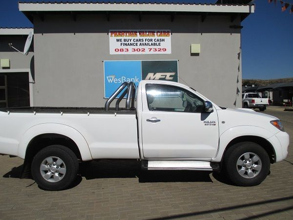 2008 Toyota Hilux 3.0 D-4d Raider Rb Pu Sc  Gauteng Pretoria_0