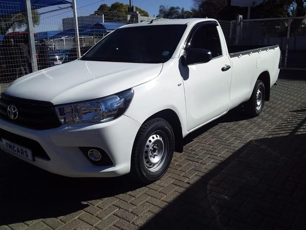 2019 Toyota Hilux 2.4 GD-6 SR Single Cab Bakkie Gauteng Bramley_0