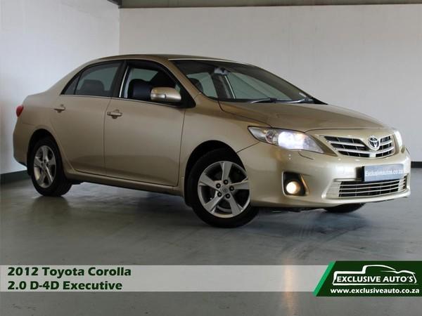 2012 Toyota Corolla 2.0 D-4d Exclusive  Gauteng Pretoria_0