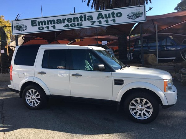2009 Land Rover Discovery 3 Td V6 Hse At  Gauteng Emmarentia_0