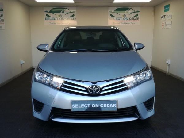 2016 Toyota Corolla 1.6 Prestige CVT Gauteng Four Ways_0