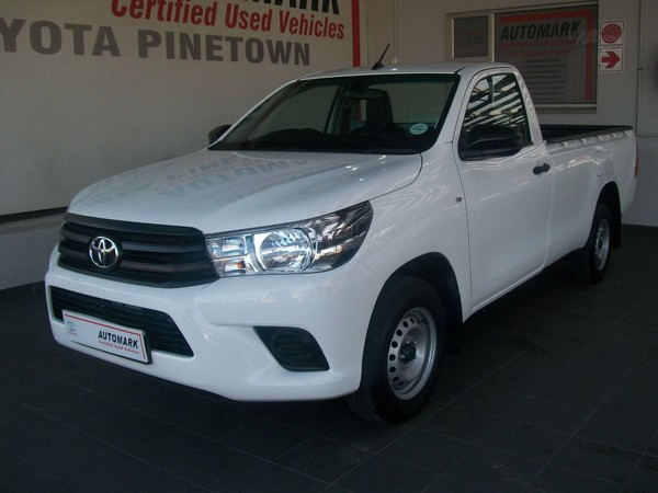 2018 Toyota Hilux 2.4 GD AC Single Cab Bakkie Kwazulu Natal Pinetown_0