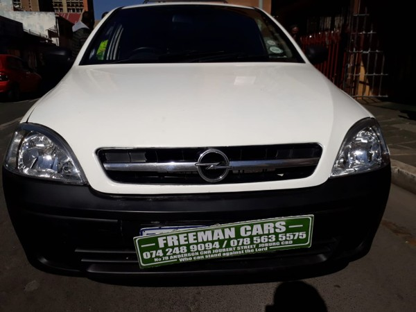 2008 Opel Corsa Utility 1.4i Club Pu Sc  Gauteng Johannesburg_0