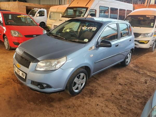 2012 Chevrolet Aveo 1.6 L 5dr Service History Mpumalanga Mpumalanga_0