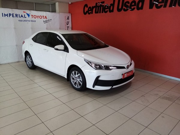 2020 Toyota Corolla Quest 1.8 Prestige Gauteng Edenvale_0