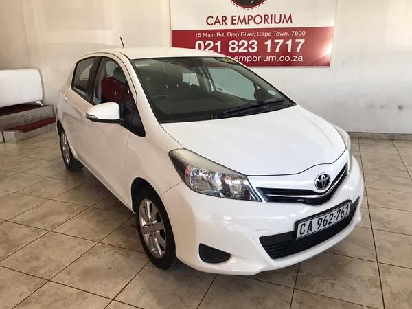 2013 Toyota Yaris 1.3 Xs Cvt 5dr  Western Cape Diep River_0