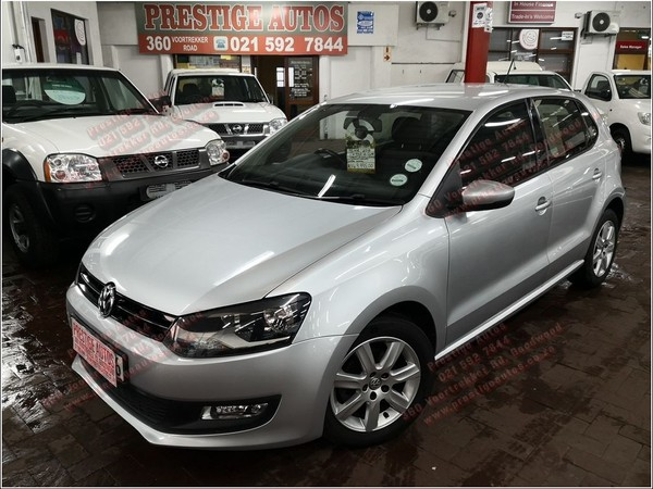 2012 Volkswagen Polo 1.6 Comfortline Tip  Western Cape Goodwood_0