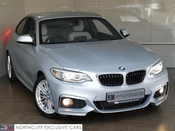 2016 BMW 2 Series 220D COUPE M-SPORT AUTO Gauteng Randburg_0