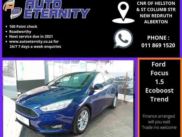 2015 Ford Focus 1.5 Ecoboost Trend 5-Door Gauteng Alberton_0