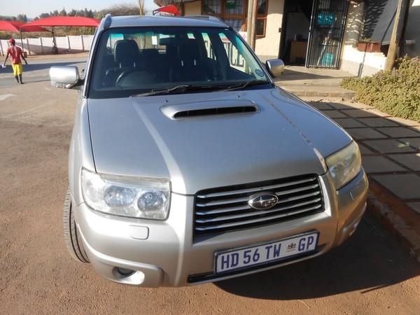 2006 Subaru Forester 2.5 Xt Sportshift At  Gauteng Waterkloof_0