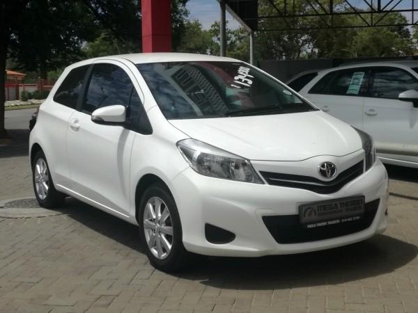 2013 Toyota Yaris 1.3 Xs 3dr  North West Province Klerksdorp_0