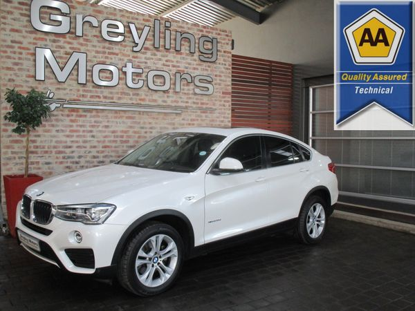 2016 BMW X4 xDRIVE20d Gauteng Pretoria_0