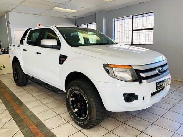 2015 Ford Ranger 2.2TDCI XLS Double Cab 4X4 Manual Kwazulu Natal Vryheid_0