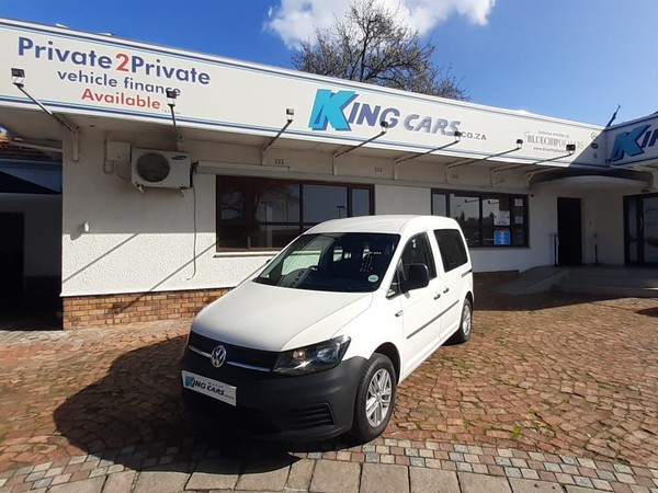 2018 Volkswagen Caddy Caddy4 Crewbus 1.6i 7-Seat Western Cape Bellville_0
