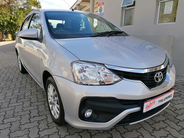 2018 Toyota Etios 1.5 Xs  Western Cape George_0