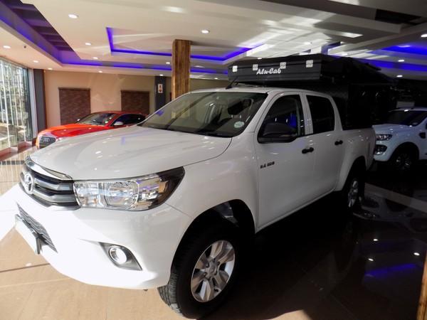 2018 Toyota Hilux 2.4 GD-6 SRX 4X4 Auto Double Cab Bakkie Western Cape Stellenbosch_0