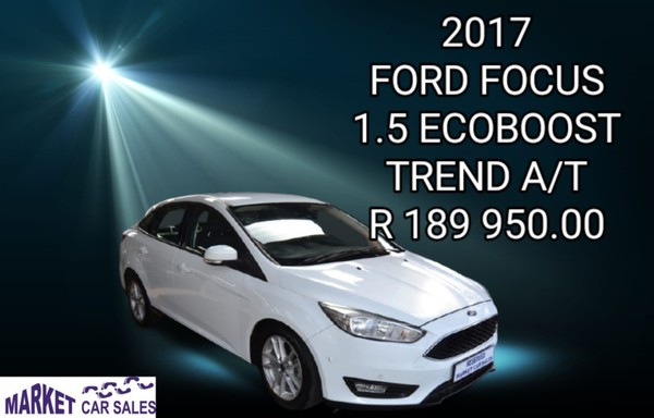 2017 Ford Focus 1.5 Ecoboost Trend Auto Gauteng Johannesburg_0