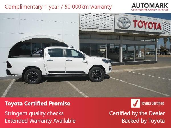 2020 Toyota Hilux 2.8 GD-6 RB Auto Raider Double Cab Bakkie Northern Cape Hartswater_0