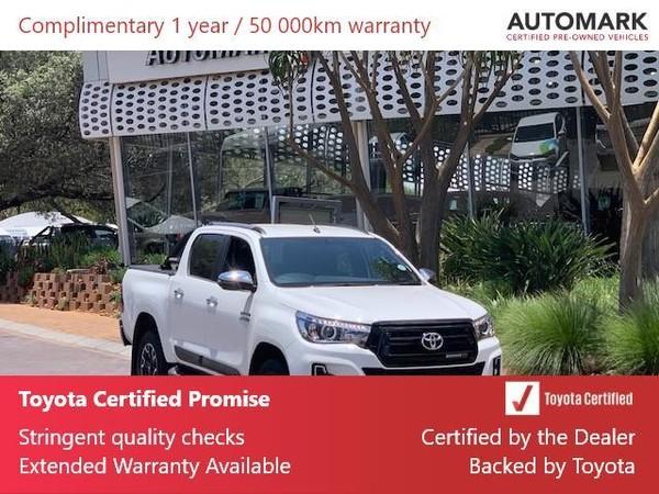 2019 Toyota Hilux 2.8 GD-6 Raider 4X4 Auto Double Cab Bakkie Gauteng North Riding_0