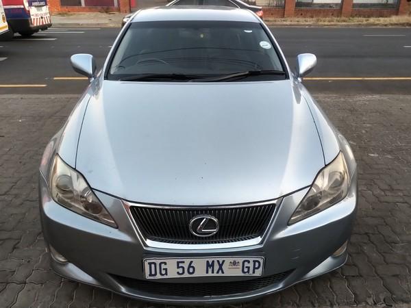 2008 Lexus IS 250 At  Gauteng Pretoria_0