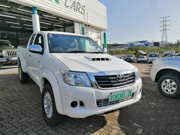 2012 Toyota Hilux 3.0d-4d Raider Xtra Cab Pu Sc  Kwazulu Natal Pinetown_0