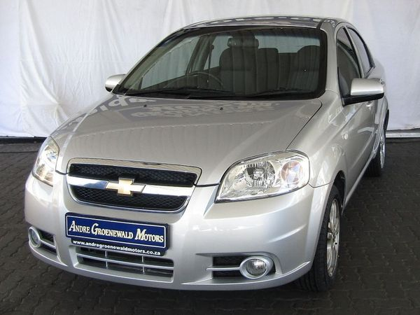 2015 Chevrolet Aveo 1.6 Ls At  Western Cape Goodwood_0