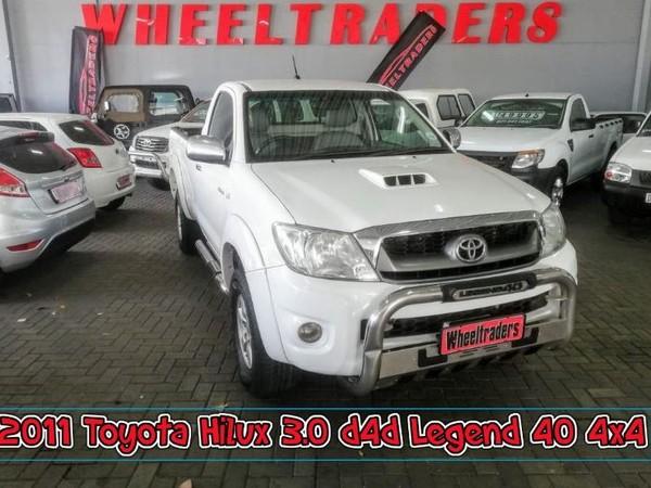 2011 Toyota Hilux 3.0 D-4d Raider 4x4 Pu Sc  Western Cape Parow_0