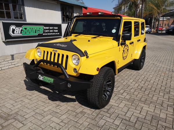 2015 Jeep Wrangler 2.8 Crd Unltd Sahar At  Mpumalanga Mpumalanga_0