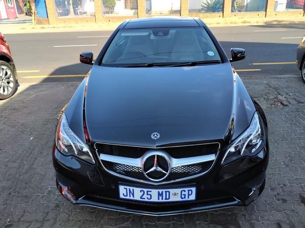2015 Mercedes-Benz E-Class E250 Cgi Coupe  Gauteng Pretoria_0