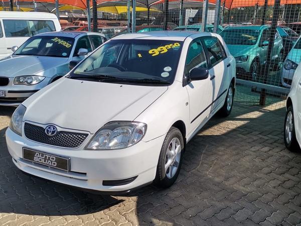 2004 Toyota RunX 140i Rt  Gauteng De Deur_0