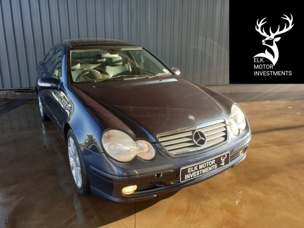 2003 Mercedes-Benz C-Class C 230k Coupe At  Mpumalanga Middelburg_0