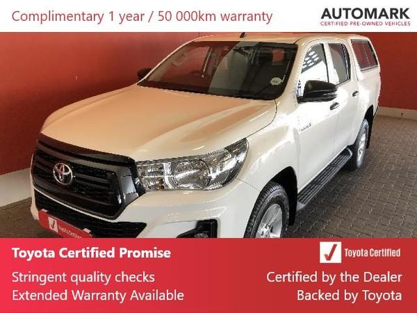 2019 Toyota Hilux 2.4 GD-6 SRX 4X4 Auto Double Cab Bakkie Free State Bloemfontein_0