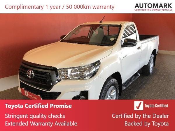 2019 Toyota Hilux 2.4 GD-6 RB SRX Single Cab Bakkie Free State Bloemfontein_0