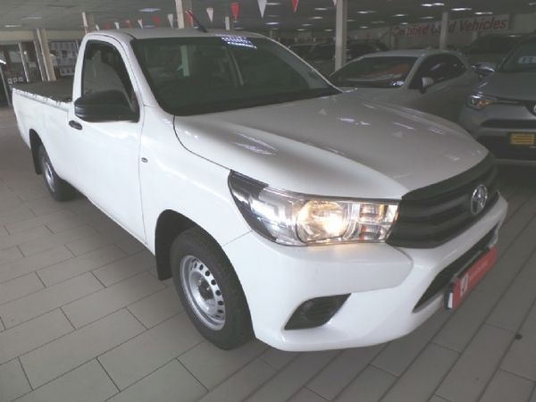 2018 Toyota Hilux 2.4 GD Single Cab Bakkie Gauteng Alberton_0