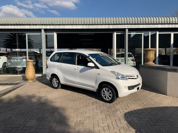 2015 Toyota Avanza 1.5 Sx  Mpumalanga Delmas_0