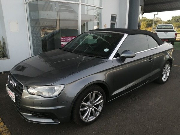 2016 Audi A3 1.4T FSI S Cabriolet Kwazulu Natal Mount Edgecombe_0
