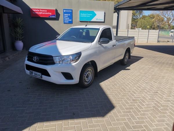 2018 Toyota Hilux 2.4 GD AC Single Cab Bakkie Limpopo Polokwane_0