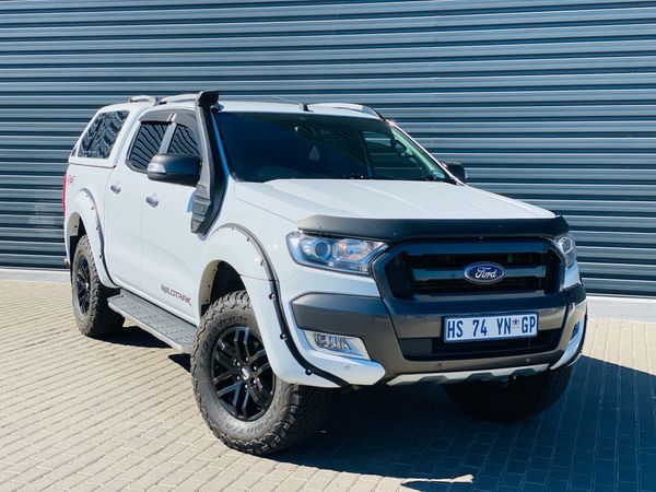 2018 Ford Ranger 3.2TDCi 3.2 WILDTRAK 4X4 Auto Double Cab Bakkie Mpumalanga Evander_0