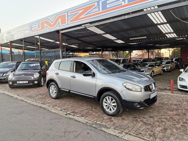 2012 Nissan Qashqai 1.6 Visia  Gauteng Benoni_0