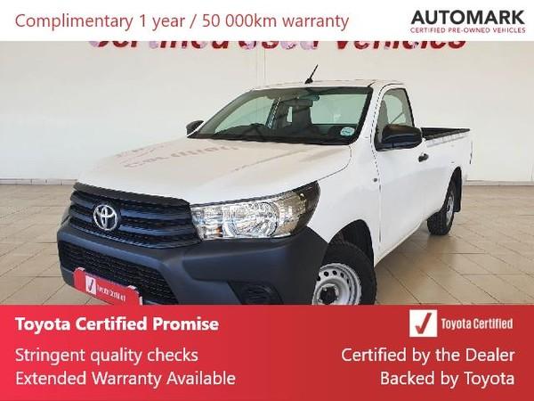 2019 Toyota Hilux 2.4 GD AC Single Cab Bakkie North West Province Klerksdorp_0