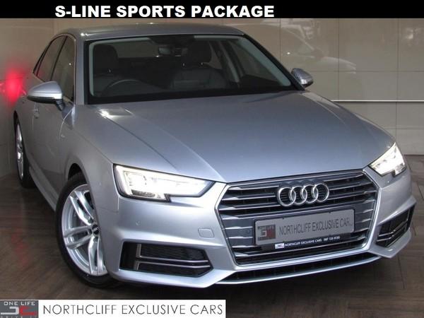2016 Audi A4 2.0T S-LINE AUTO  Gauteng Randburg_0
