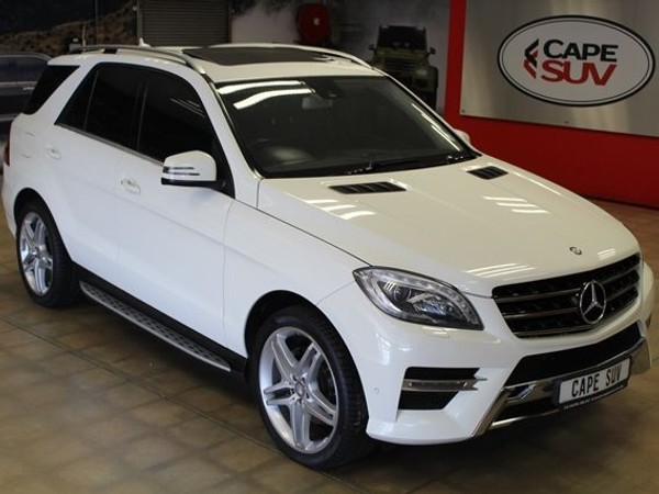 2013 Mercedes-Benz M-Class Ml 350 Bluetec  Western Cape Brackenfell_0