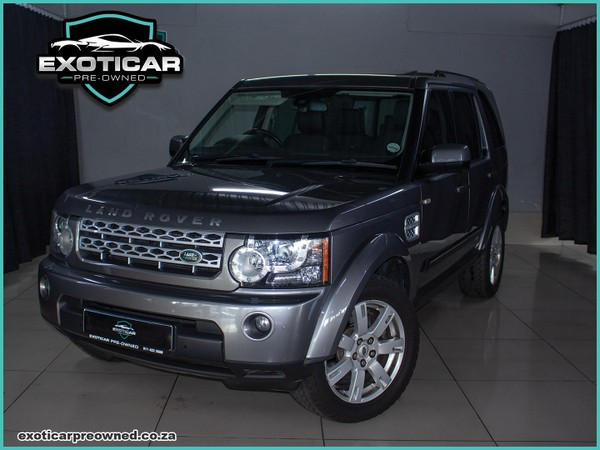 2011 Land Rover Discovery 4 3.0 TdSd V6 Se  Gauteng Benoni_0