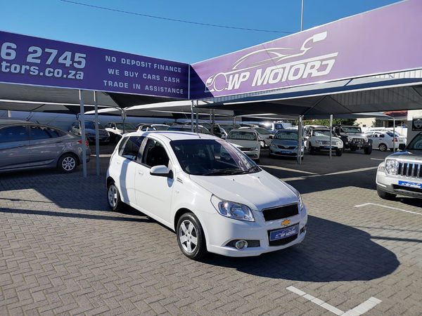 2012 Chevrolet Aveo 1.6 Ls 5dr At  Western Cape Bellville_0
