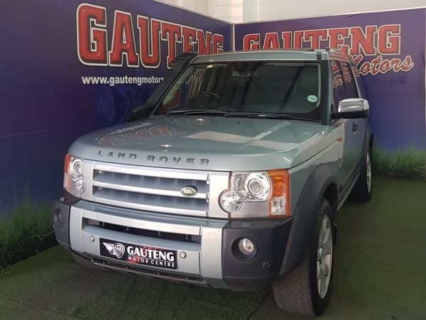 2007 Land Rover Discovery 3 Td V6 Hse At  Gauteng Pretoria_0